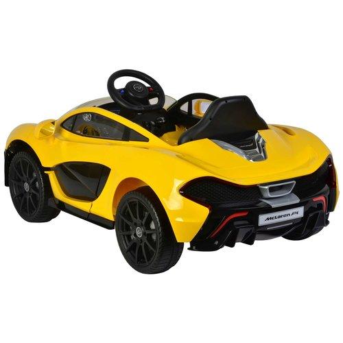 MC Laren McLaren P1 - Geel - Elektrische Auto -  met Afstandsbediening - 12 Volt
