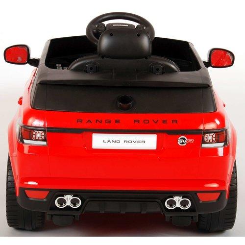 Range rover Range Rover Sport SVR - Rood - Elektrische Auto - met Afstandsbediening - 12 Volt