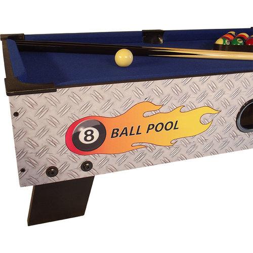 TopTable Pooltafel TopTable 8-ball topper