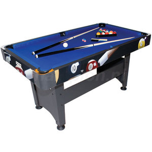 TopTable Pooltafel TopTable Chicago Poolballs