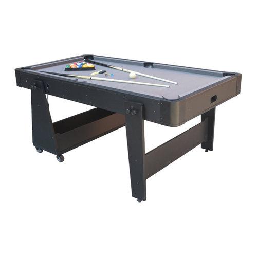 TopTable Airhockey/Pooltafel TopTable Twist 2-1 Max, Grey-Black
