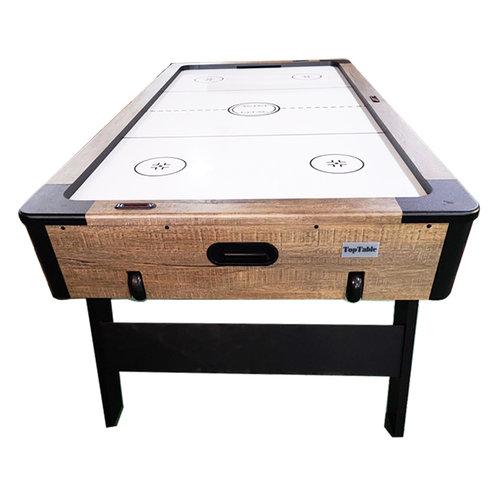 TopTable Airhockey TopTable Foldy Wood (inklapbaar) 6,5ft