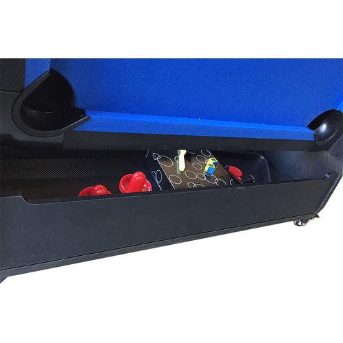 TopTable Airhockey/Pooltafel TopTable Twist 2-1 Max Mobile, Wood