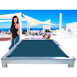 Lexor Snookertafel Lexor Dinner Ibiza Jeans, frame in white,silver or black