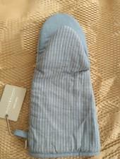 Ovenwant linnen streep grijs