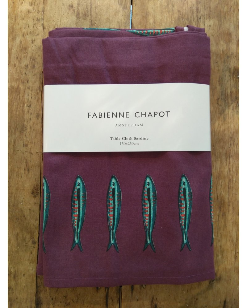Fabienne Chapot Table Cloth Sardine 150x250cm