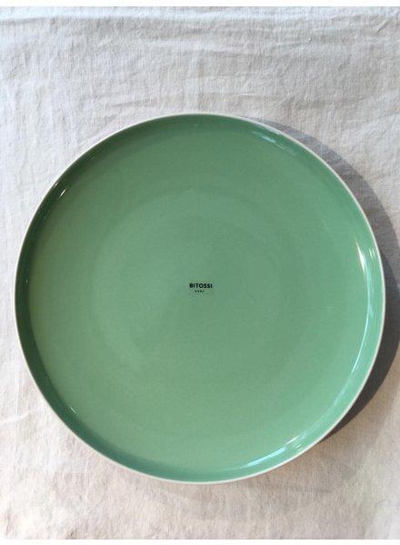 Bitossi Sorbetto diner bord 27cm  groen