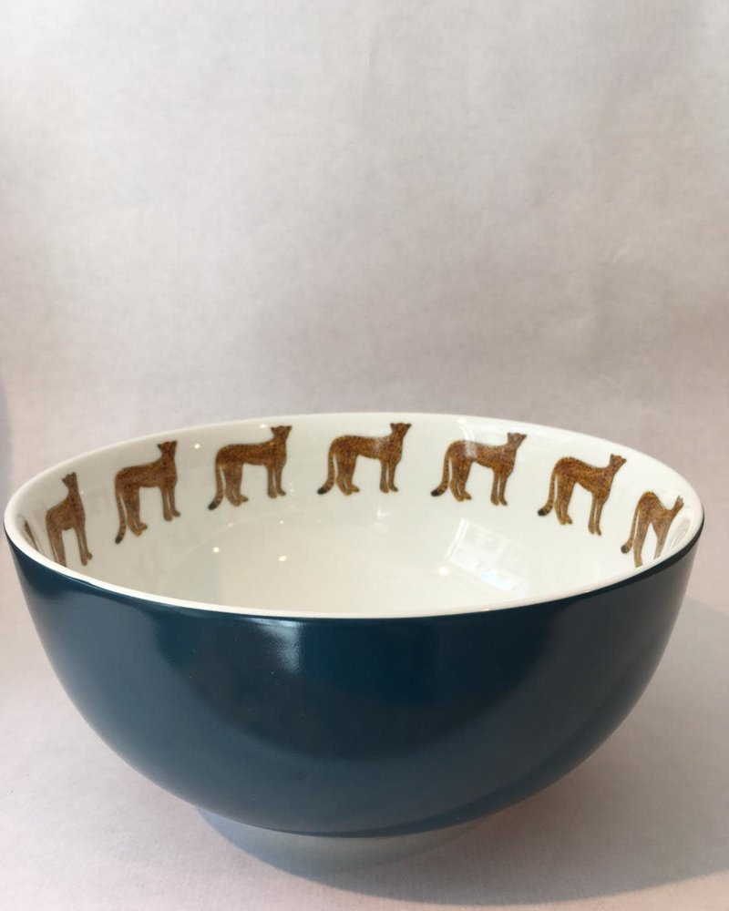 Fabienne Chapot Bowl cheetah 23 cm