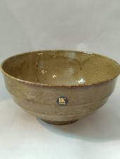 HK living Japanese ceramic noodle bowl oker