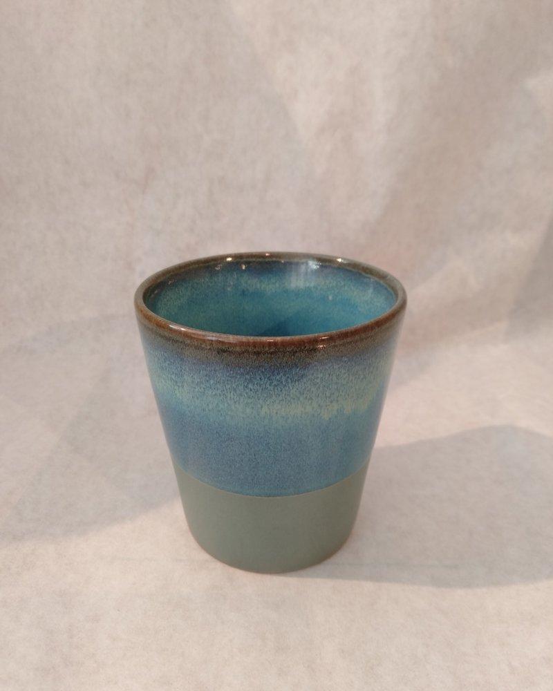 HK living ceramic 70's mug: moss
