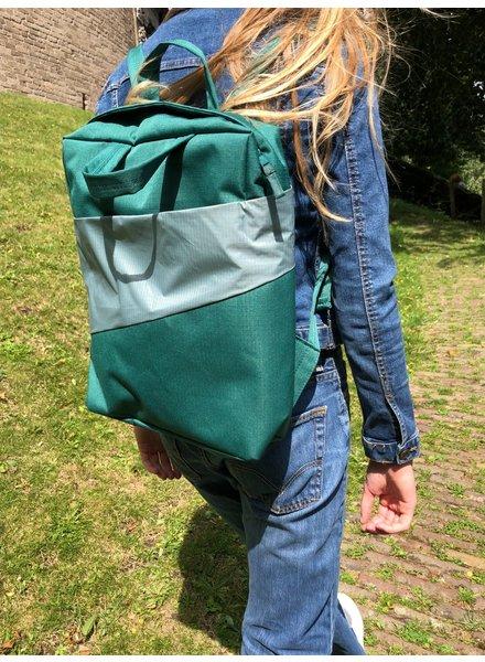 Susan Bijl Susan Bijl backpack pine & grey