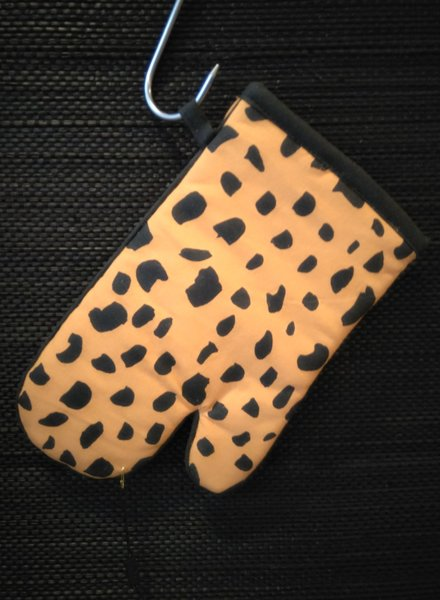 Fabienne Chapot Oven Glove Cheetah Spots 29x16.5cm