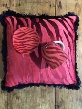 Fabienne Chapot Cushion Zebra Stripes 40x40cm