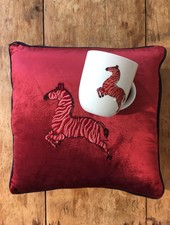 Fabienne Chapot Cushion Zebra  40x40cm