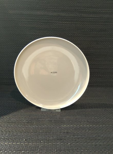 Bitossi Sorbetto ontbijt bord Stone grijs