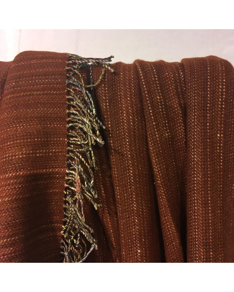 McNutt Heritage tweed wollen plaid rust