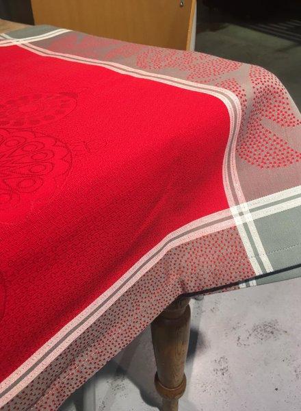 Le Jacquard Francais Scintillement holly kerst loper 55 x 200 cm