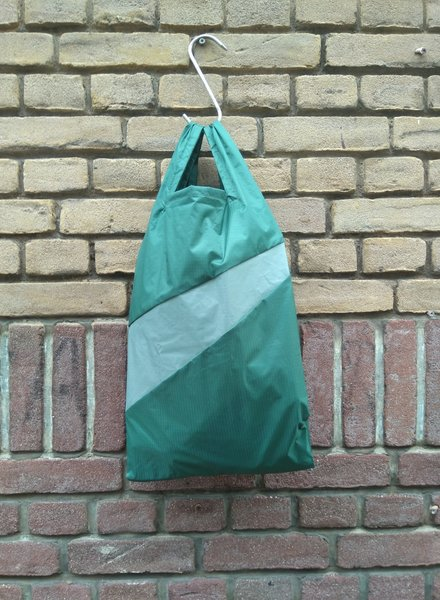 Susan Bijl Shopping bag M pine en grey