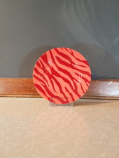 Fabienne Chapot Cake Plate Zebra Stripes 17 cm