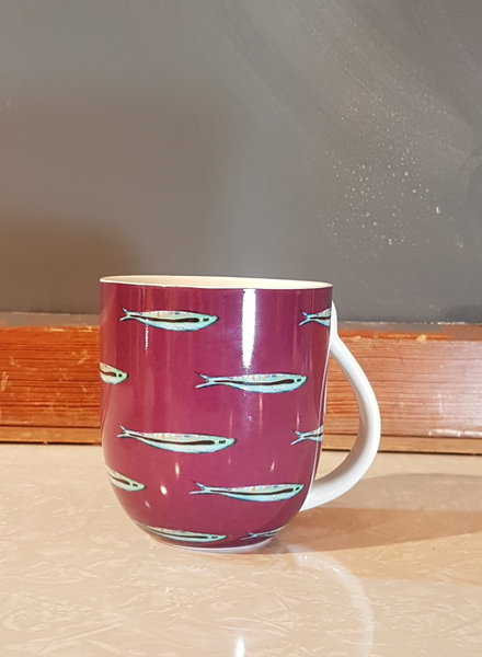 Fabienne Chapot Mug Large Sardine 400ml