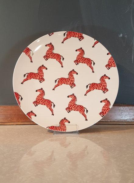 Fabienne Chapot Serving Plate Zebra 32cm