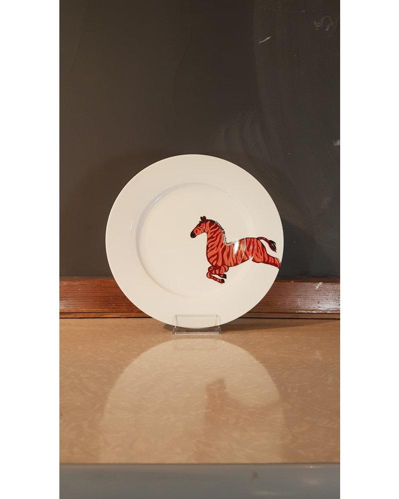 Fabienne Chapot Dinner Plate zebra 27cm
