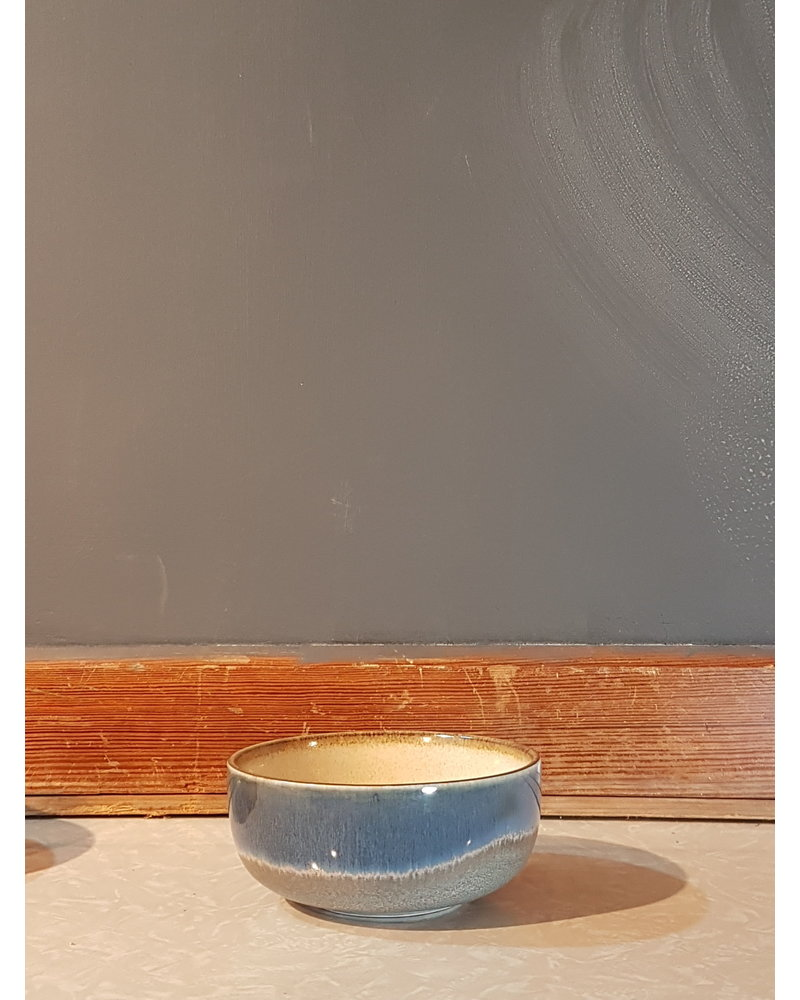 HK living Ceramic 70's bowl medium: ocean