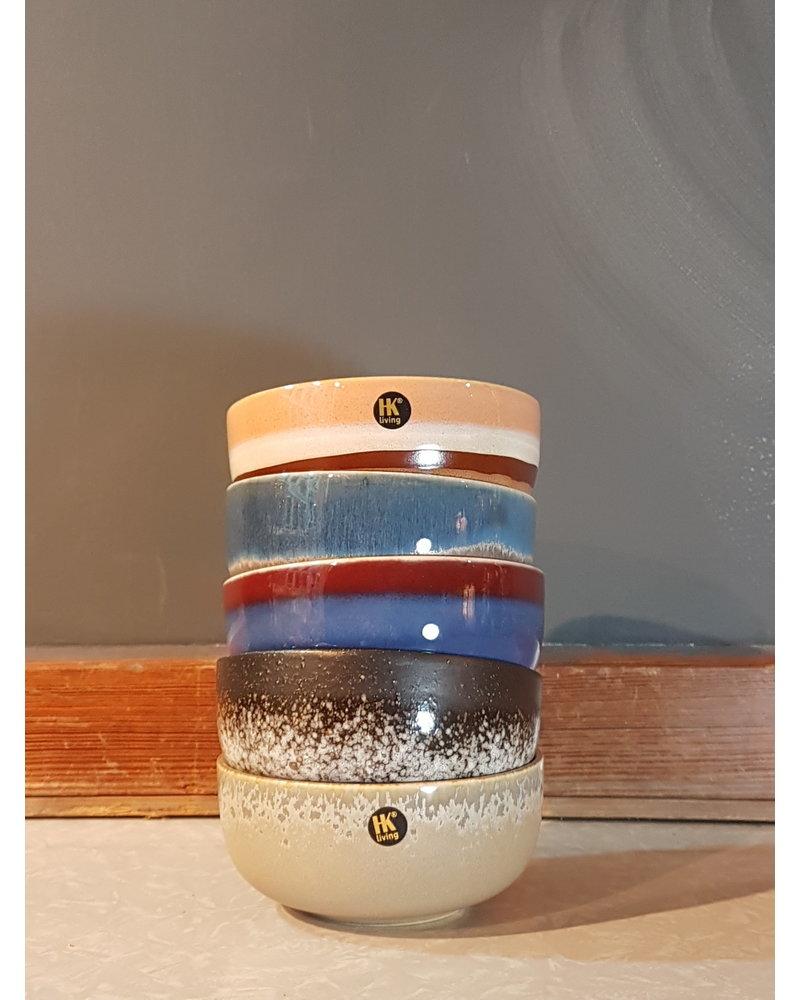 HK living Ceramic 70's bowl medium: Stream