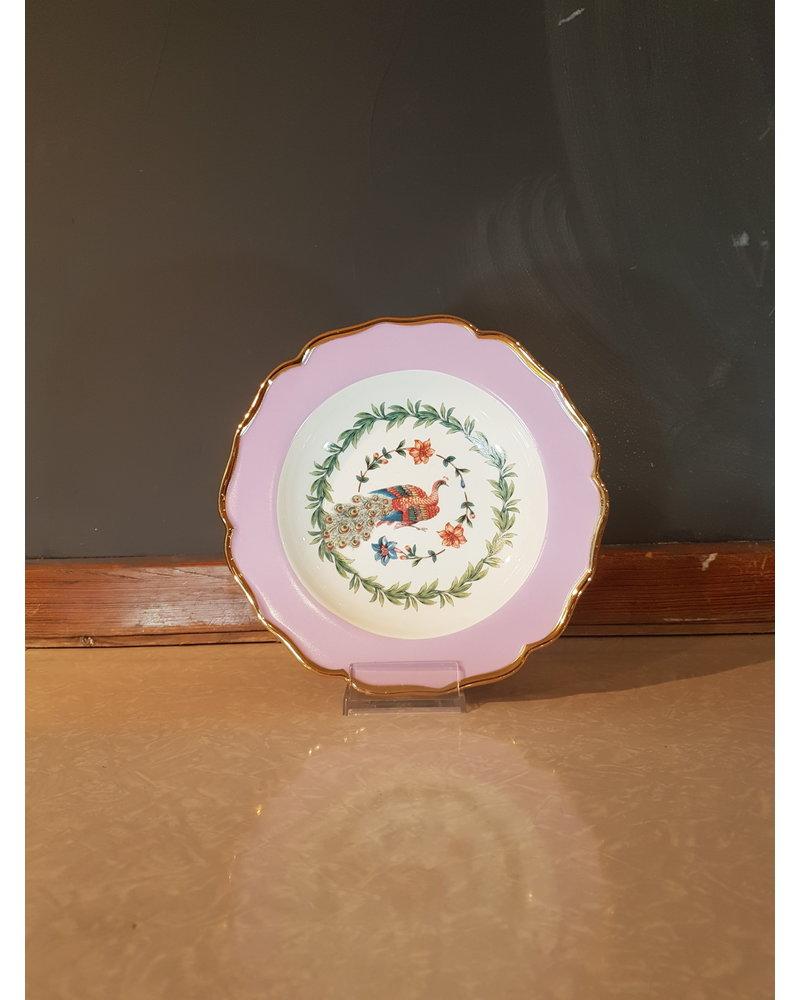 Bitossi Bitossi Funky Table diep bord pauw 22 cm