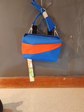 Susan Bijl Susan Bijl Bum bag S Blue and Oranda
