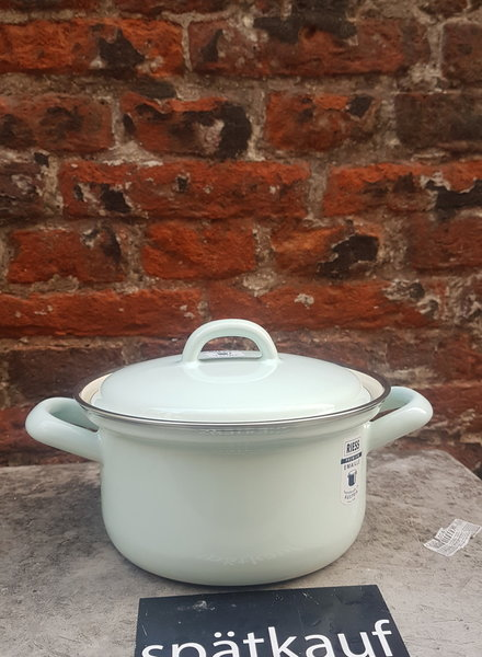 Riess Kookpan emaille 0,75 liter turquoise