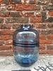 Blauwe glazen Lambert vaas 25,5 cm