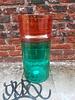 Oranje groene vaas van Hay
