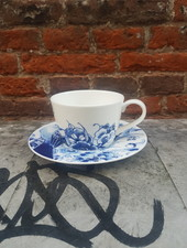 Royal Delft Peacock koffie kop en schotel 180 ml