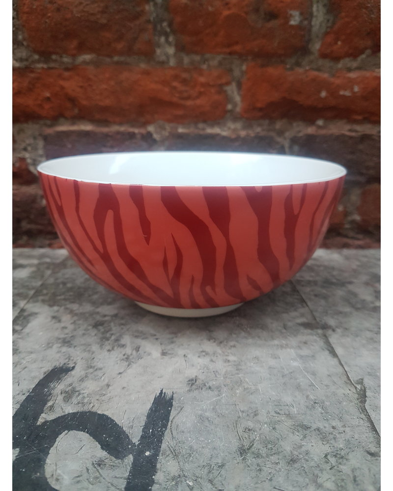 Fabienne Chapot Bowl Zebra Stripes 15 cm