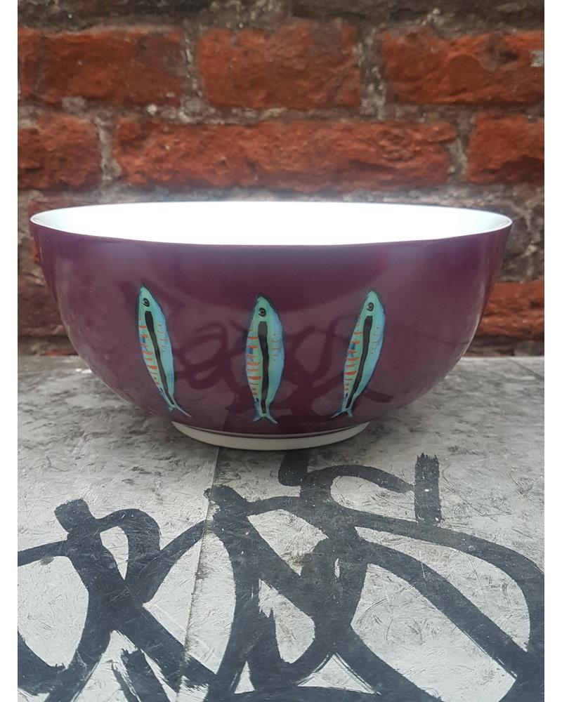 Fabienne Chapot Bowl Sardine 18 cm