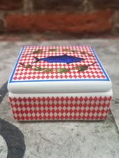 Bitossi Bel Paese Little Square Box 'Fish'