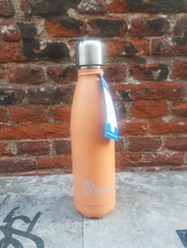 Made Sustained Knight fles RVS 500 ML Flamingo orange