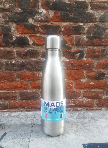 Made Sustained Knight fles RVS 500 ML