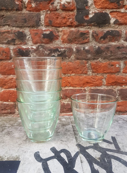 Bormioli Zeno Set van 6 Waterglazen 'Verde'