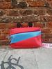 Susan Bijl Bum bag S Red Light and Sky Blue