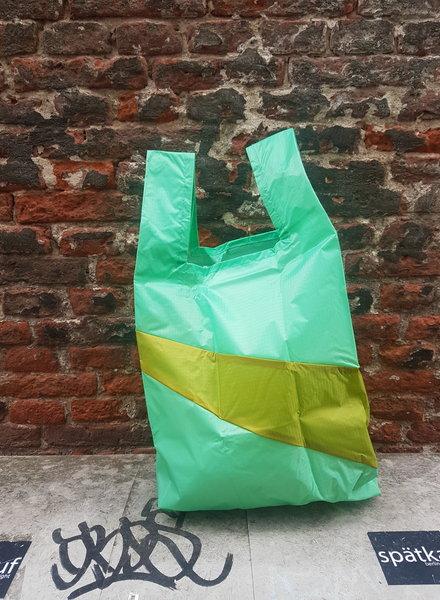 Susan Bijl Shopping bag M jade apple