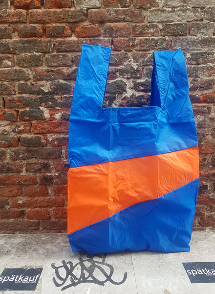 Susan Bijl Shoppingbag L blue oranda