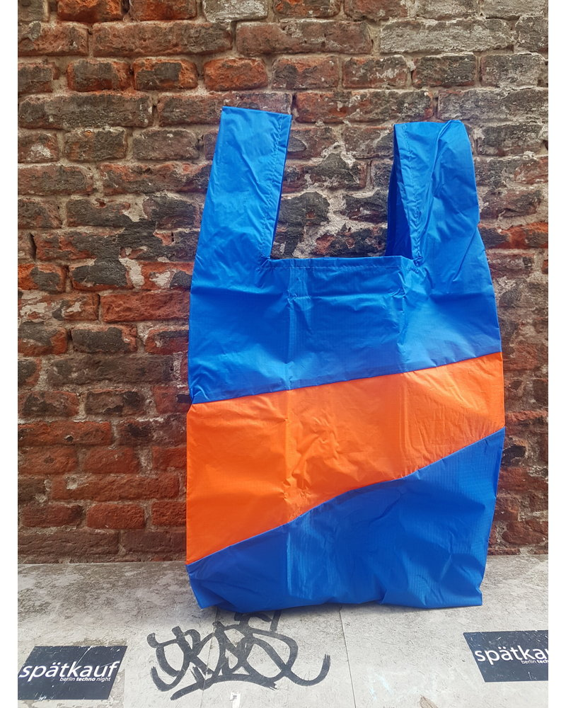 Susan Bijl Shoppingbag L blue oranda