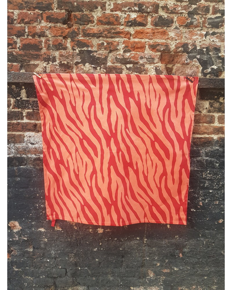 Fabienne Chapot Tea towel Zebra