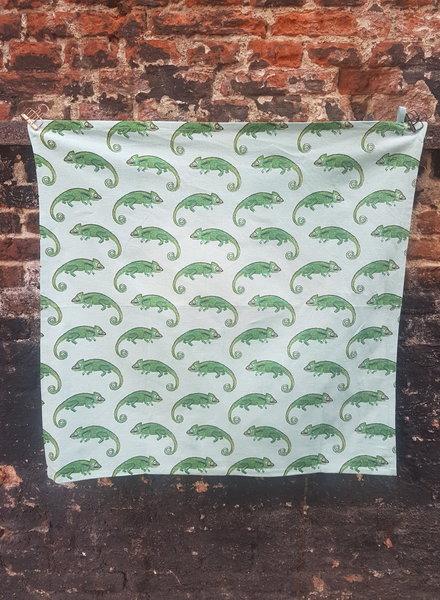 Fabienne Chapot Tea towel Chameleon