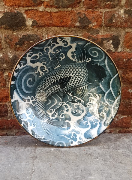 Tokyo Design Carp Menbachi Bowl 'Black Denim'