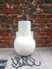 HK living Matt White Vase S