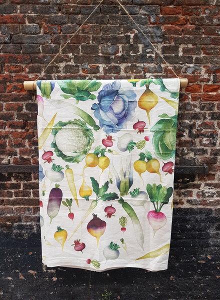 Tessitura Groente kleed 170 x 270 cm