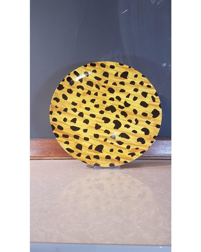 Fabienne Chapot Serving Plate Cheetah Spots 32cm